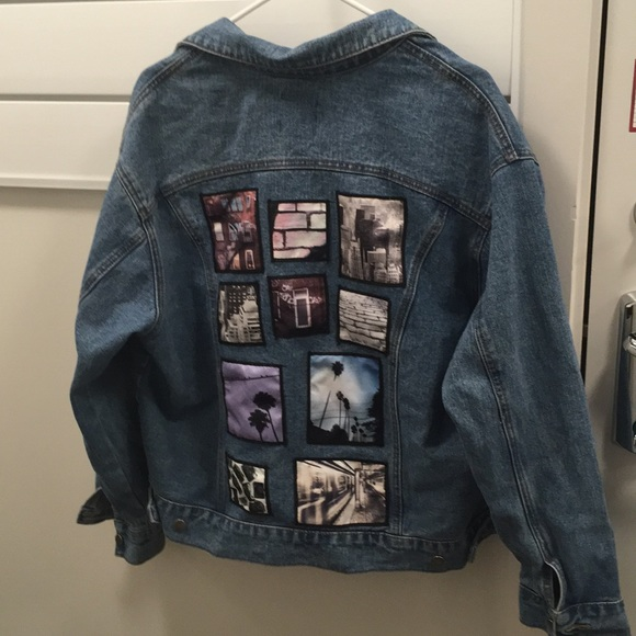 d2ab66d9246 Forever 21 Jackets   Blazers - Forever 21 size S jean jacket back patches